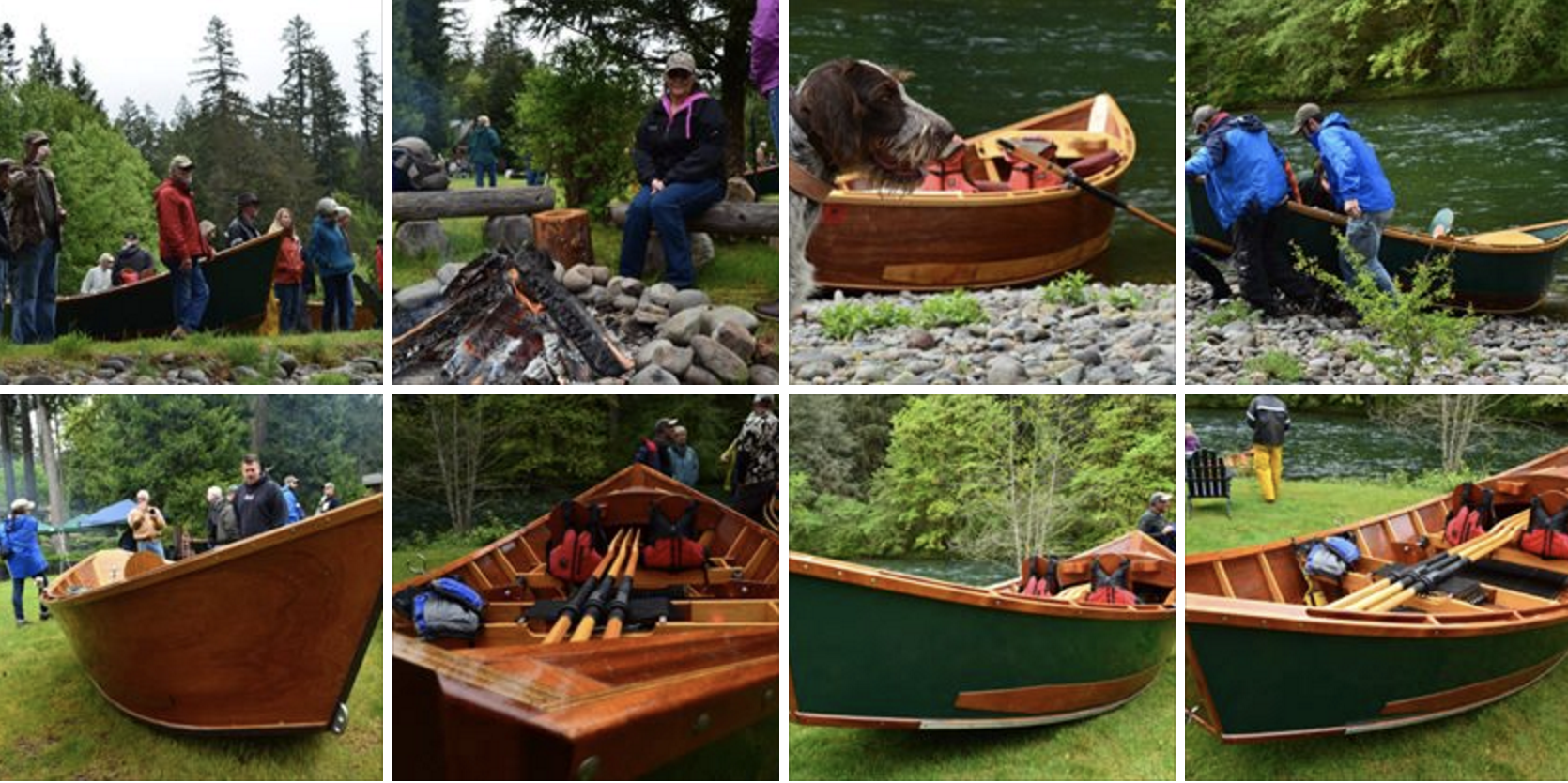 2016 Wooden Boat Show At Eagle Rock Lodge