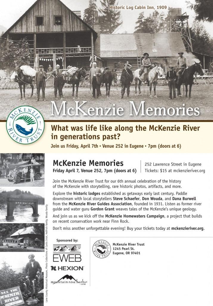 mckenzie memories 2017